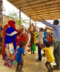 Somali refugees perform traditional dances in the Dollo Ado camp, Ethiopia