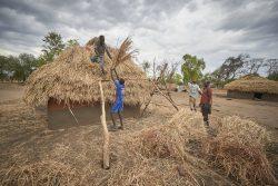 South Sudan camp