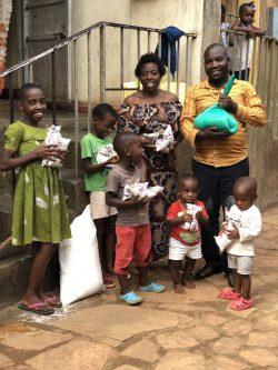 kampala food distribution