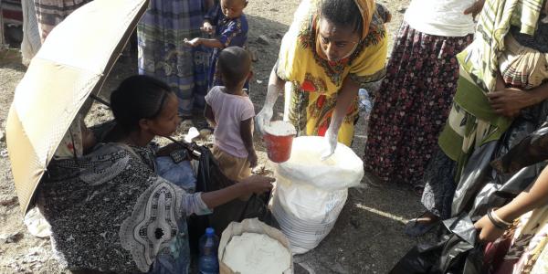 IDPs in MAi Aini