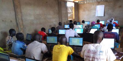 computer class in south sudan