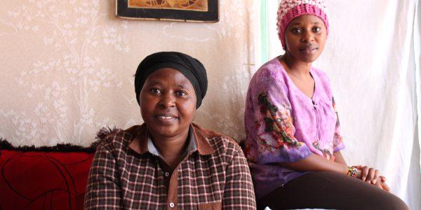 Mukamana Mikono refugee craft shop beneficiary